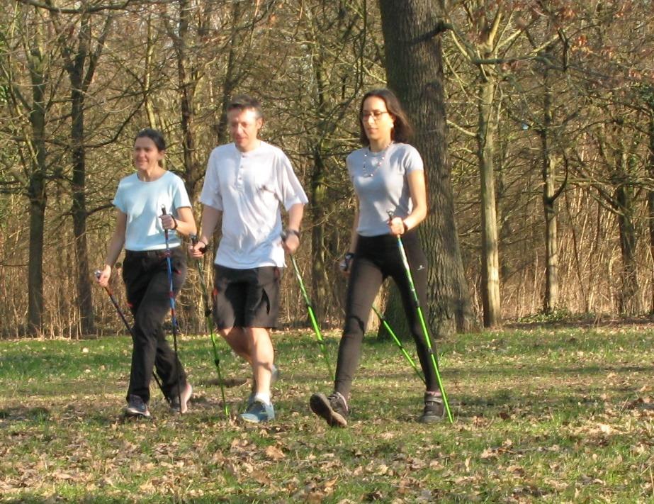 Marche nordique en petit groupe dans le Bois de Vincennes