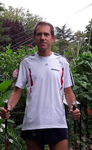 Photo de Nicolas, entraineur de marche nordique chez Nordicoach