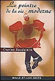 """Couverture du livre """"Le Peintre de la vie moderne"""" de Charles Baudelaire."""