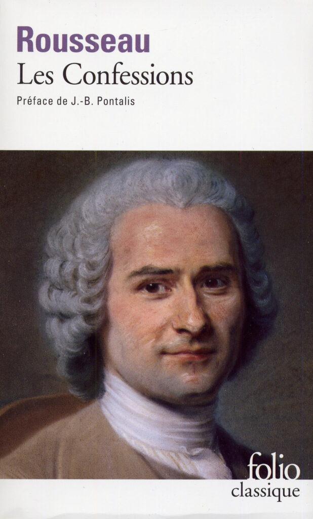 """Couverture du livre """"Les Confessions"""" de Jean-Jacques Rousseau"""