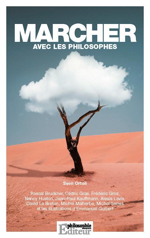 """Couverture du livre """"Marcher avec les philosophes"""""""