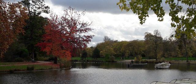 Lac Daumesnil en automne