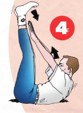 Tonification des abdominaux - Exercice 4