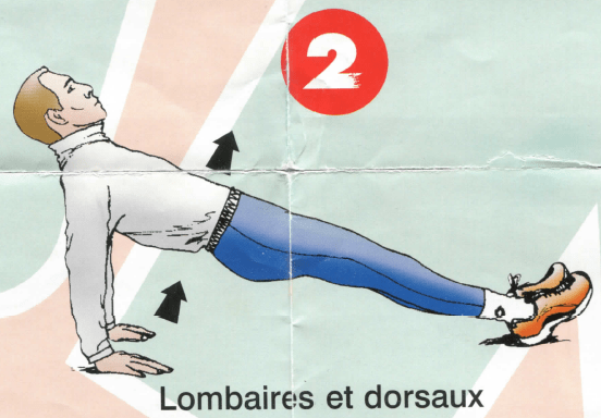 Dorso-lombaires - Exercice 2