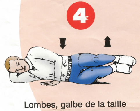 Dorso-lombaires - Exercice 4