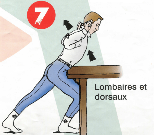 Dorso-lombaires - Exercice 7